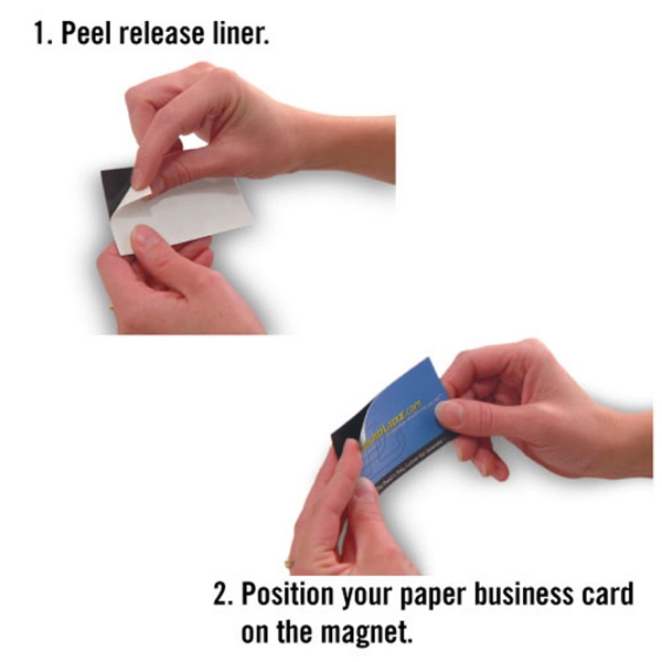 Self-Adhesive Business Card Magnet