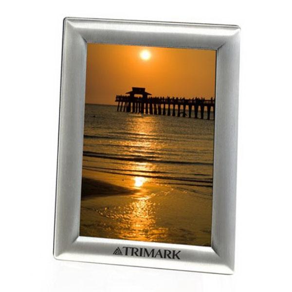 """Polished Chrome Frame - 4"""" x 6"""" Photo"""
