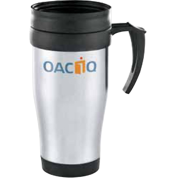 Java - Stainless Steel Mug, 14 Oz, With A Plastic Liner Photo