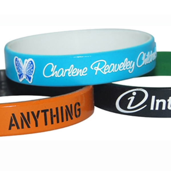 Dual Layered Color Coat Wristband