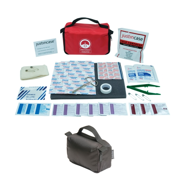 Comfort First Aid Kit, 57 Pieces, With 20 Adhesive Strips, Compress And More Photo