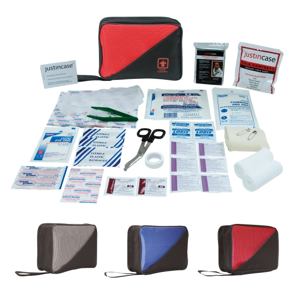 Family First Aid Kit. 71 Pieces, Including Cold Compress, Bandages And More Photo