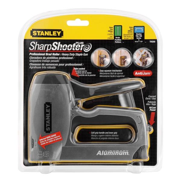 Heavy Duty Aluminum Stapler/Brad Nailer