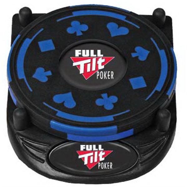 The Gambler N-dome (tm) - Non Skid Bottom Coaster Set Packed In 2-pieces With Base Photo