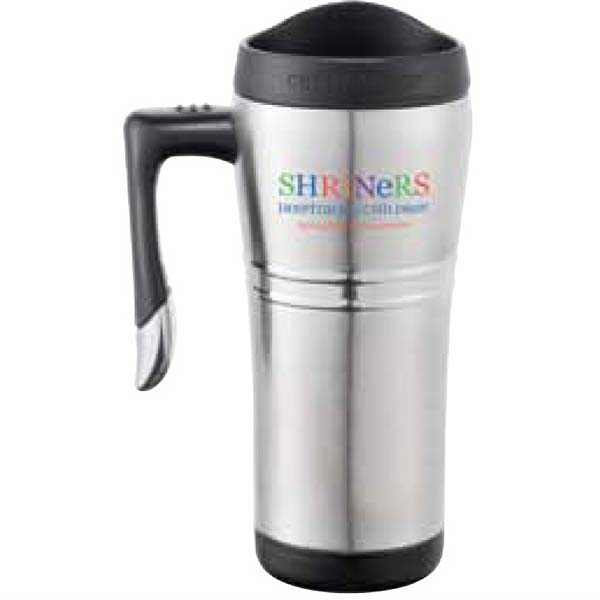 Cutter & Buck (r) Performance Series - Stainless Steel Travel Mug With Stainless Steel Liner, 16 Oz Photo