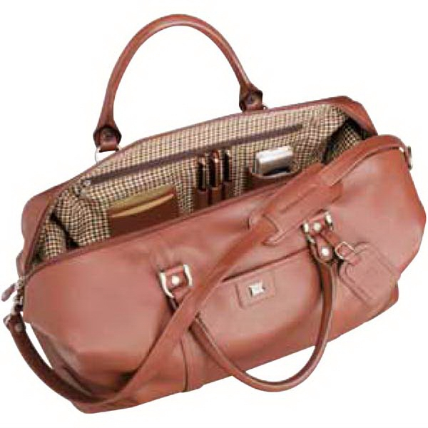 Cutter & Buck (r) - Weekender Duffel Bag Made Of Genuine Leather Photo