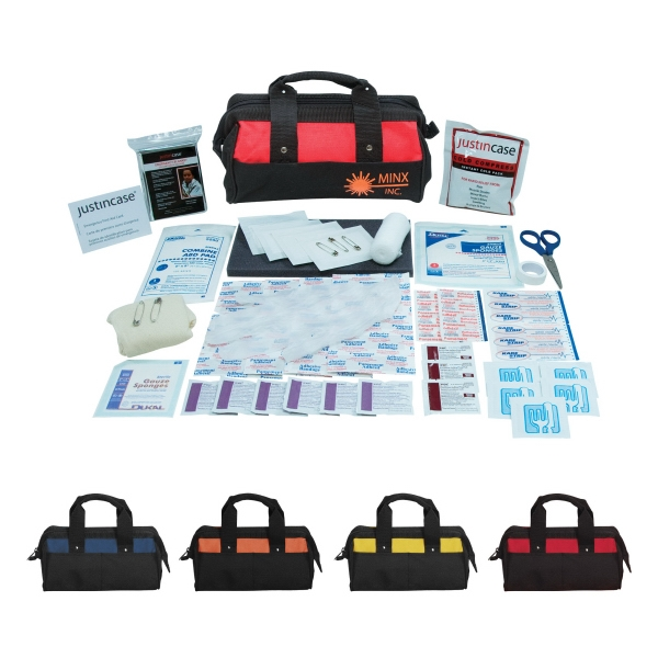 Mini Paramedic - Mini 69 Piece First Aid Kit. Includes An Emergency Blanket, Scissors And More Photo