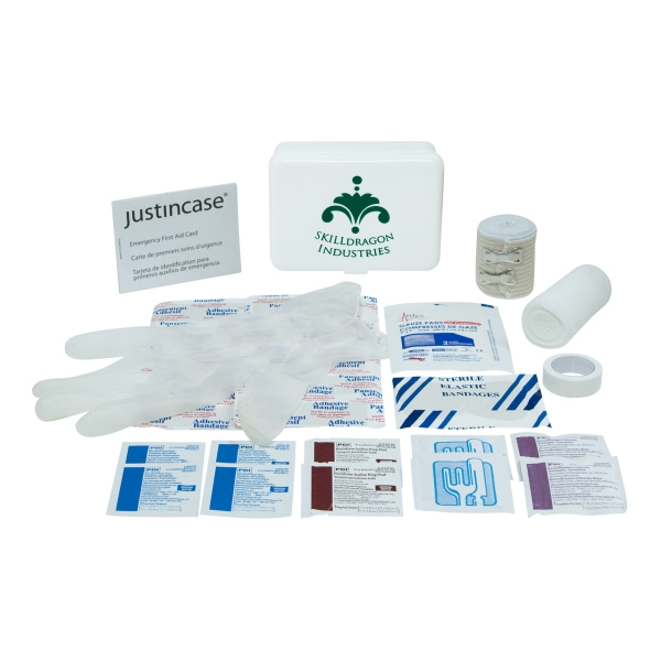 Mini Sports First Aid Kit. 29 Pieces, Including Bandages, Gauze, And More Photo