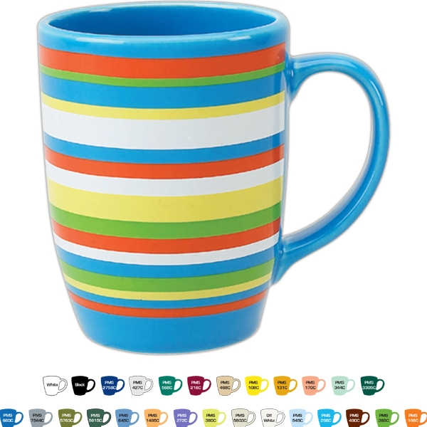 Ringo - 12 Oz. Colored Matte/gloss Ceramic Mug Photo
