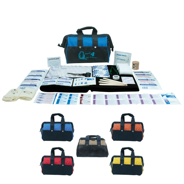 Paramedic - 133 Piece First Aid Kit Made Of 600d Polyester. Includes Bandages And More Photo