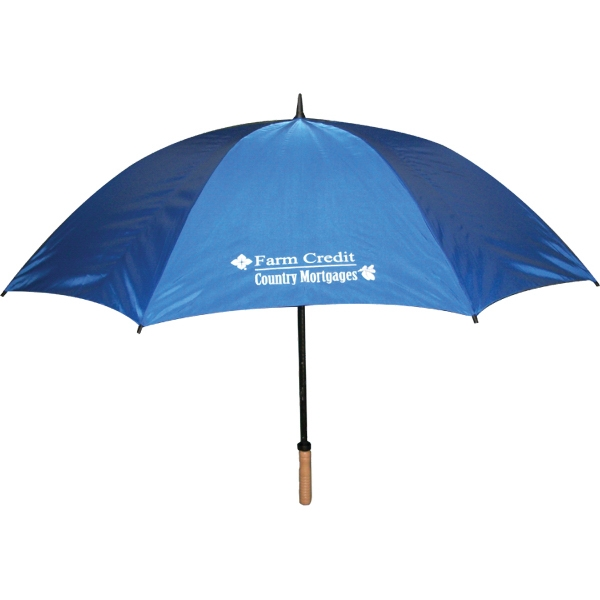 "Golf Umbrella 64"" Arc With Fiberglass Shaft Photo"