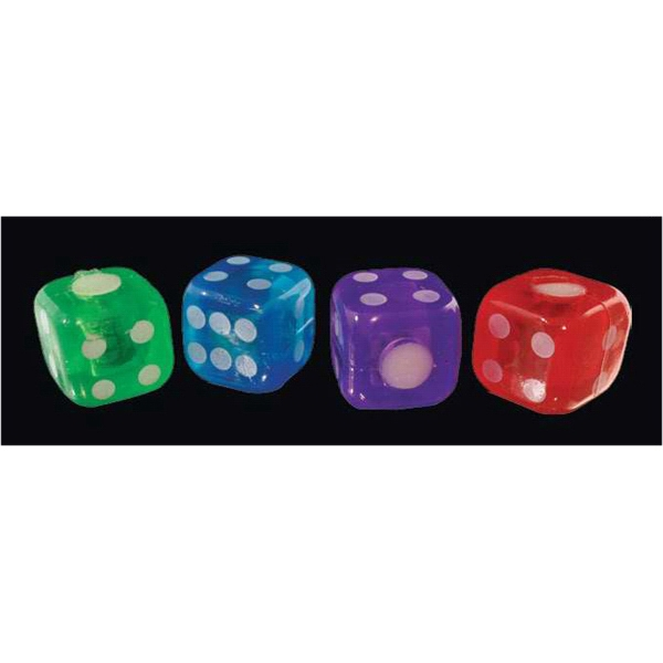 Soft assorted bouncy dice