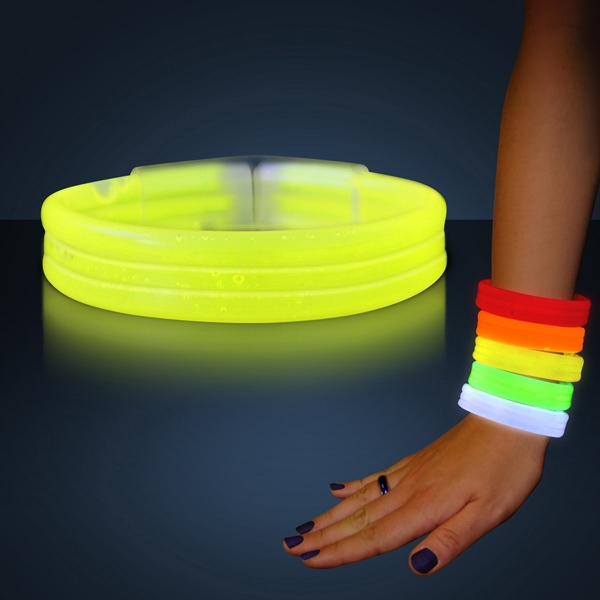 Glow thick bracelet bangles