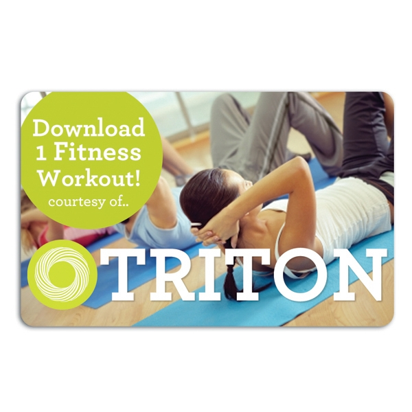 Fitness Download Card