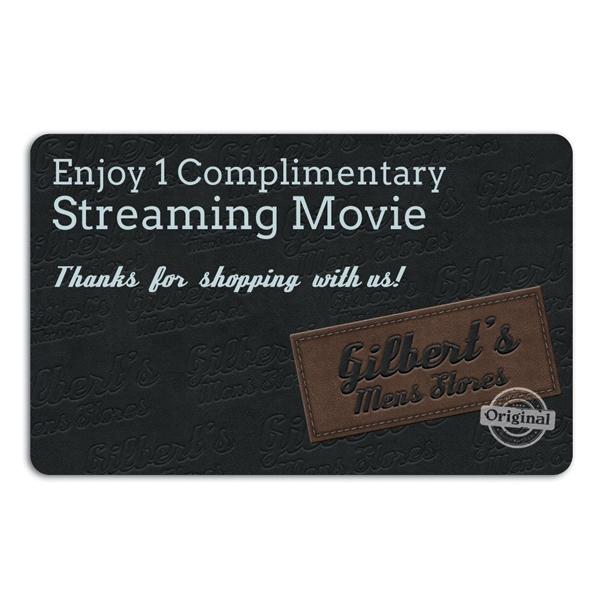 Digital Movie Rental Card