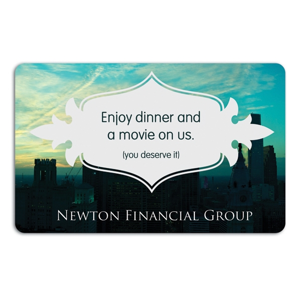 Dinner and a Movie Card