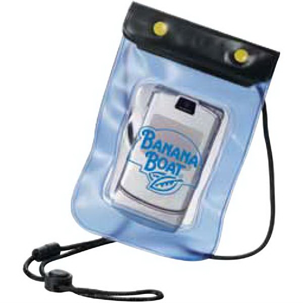 Waterproof Pouch. Pet Plastic. Keep Valuables Dry At The Beach Or Pool Photo