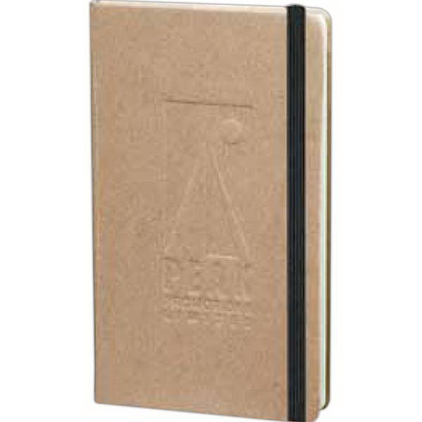 Journalbooks (r) Ambassador - Pocket Bound Journal. Recycled Paper Cover Photo