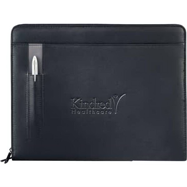 Links - Ultrahyde Padfolio, Zipper Closure And An External Pen Slot Photo