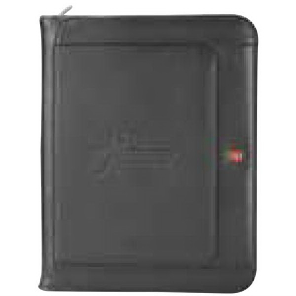Wenger Executive Leather Zippered Padfolio Bundle Set - Executive leather zippered padfolio bundle set.
