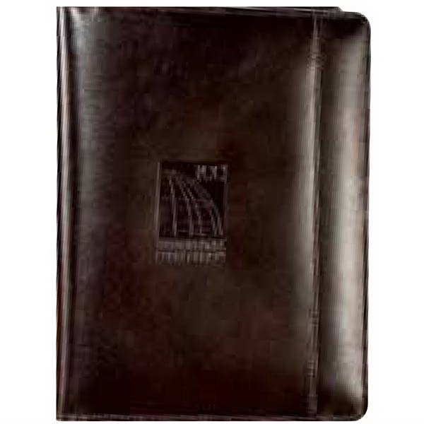 Cutter & Buck (r) - Genuine Top Grain Leather Junior Writing Pad With And Elastic Pen Loop Photo