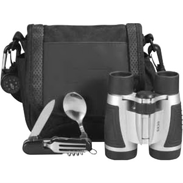 Trailblazer - Excursion Set Includes Compass, Binoculars And Mess Utensil In A Velcro Case Photo