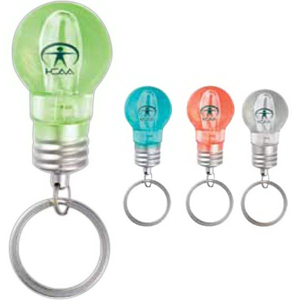 A-ha - Light Bulb Shaped Key Chain Photo