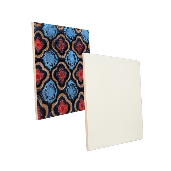 "This Ceramic Photo Tile Features The Best In Sublimation Coating, 12"" X 12"" Photo"