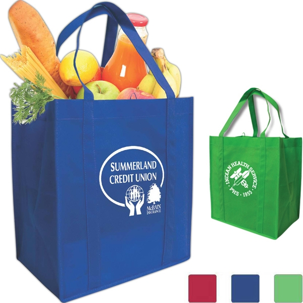 The Reusable Grocery Tote, Made Of 80 Gsm Non Woven Polypropylene Photo