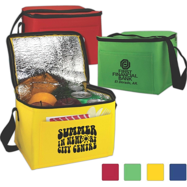 Lunch-mate - Insulated Non-woven Lunch Mate Made Of 75 Gsm Non-woven Polypropylene Photo