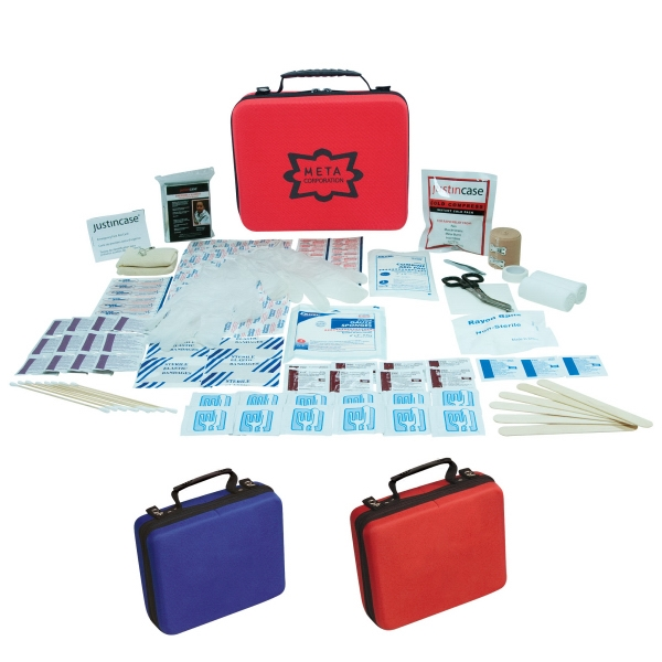 Ultra Medic - Wall Mountable First Aid Kit. Features Include Emergency Blanket, Bandages And More Photo