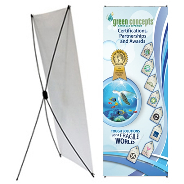 X Banner Stand Large
