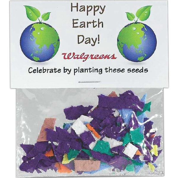 Sprout Tyme - Flower Seeded Paper Confetti Packet Photo
