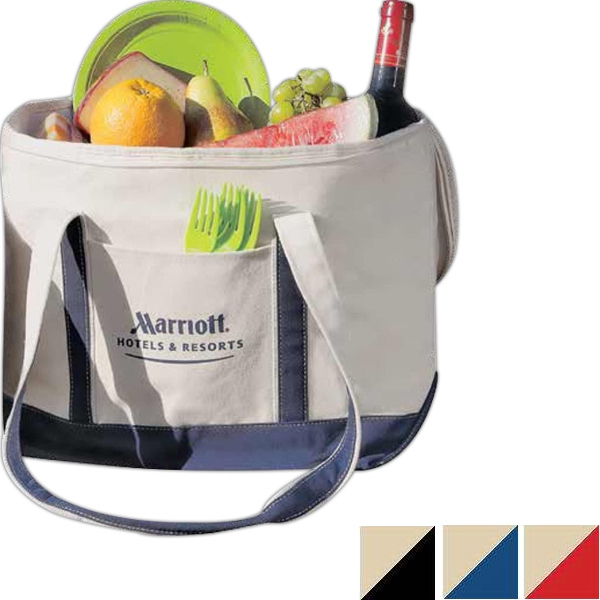 Large Canvas Boat Cooler