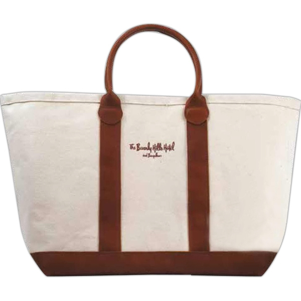 Leather Boat Bag