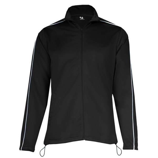Badger Ladies 100% Polyester Razor Full Zipper Jacket