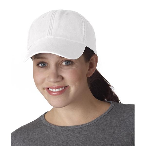 Classic Cut Solid-Color Pigment-Dyed Cap