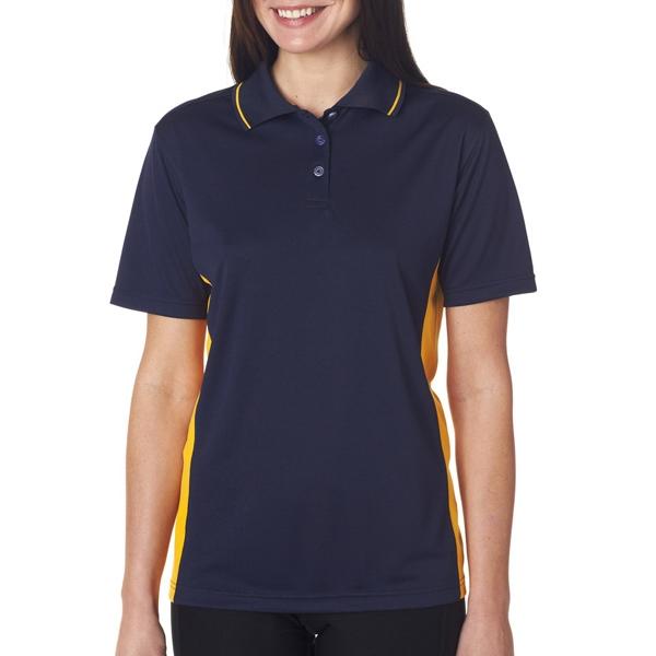 Ladies Cool & Dry Sport Two-Tone Polo - Ladies Cool & Dry Sport Two-Tone Polo