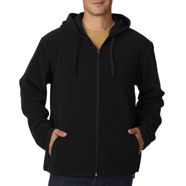 Adult Micro Fleece Full-Zip Hoodie