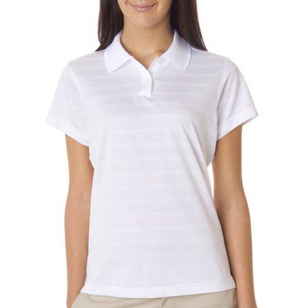 Adidas Ladies' Climacool Mesh Solid Textured Polo