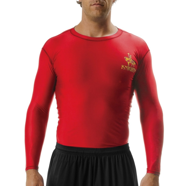 A4 Long Sleeve Compression Crew Shirt
