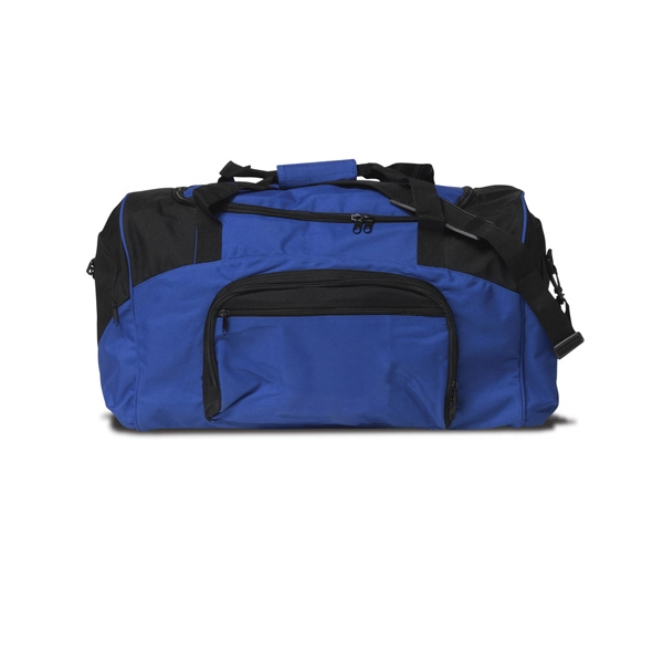 "A4 27"" Two Color Athletic Duffel"