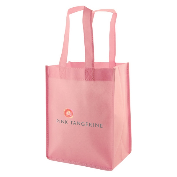 "Enviro Sacks (tm) - Polypropylene Non-woven Tote Bag, 8"" X 5"" X 10"" X 5"" And A 14"" Handle Photo"