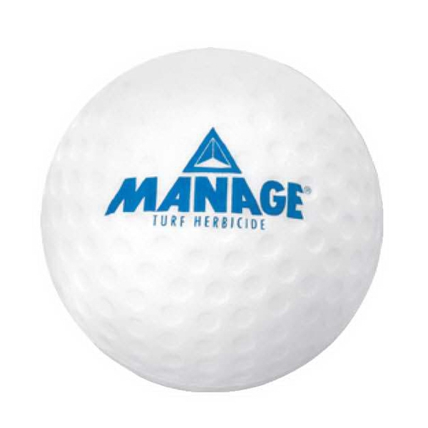 Golf Ball Stress Reliever. Squeezable Foam Stress Ball Photo