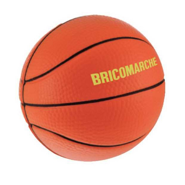 Basketball Stress Reliever. Squeezable Foam Stress Ball Photo