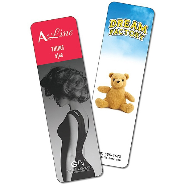 Bookmark - 2 X 7 Extra-thick Uv-coated (1s) - 14 Pt Photo