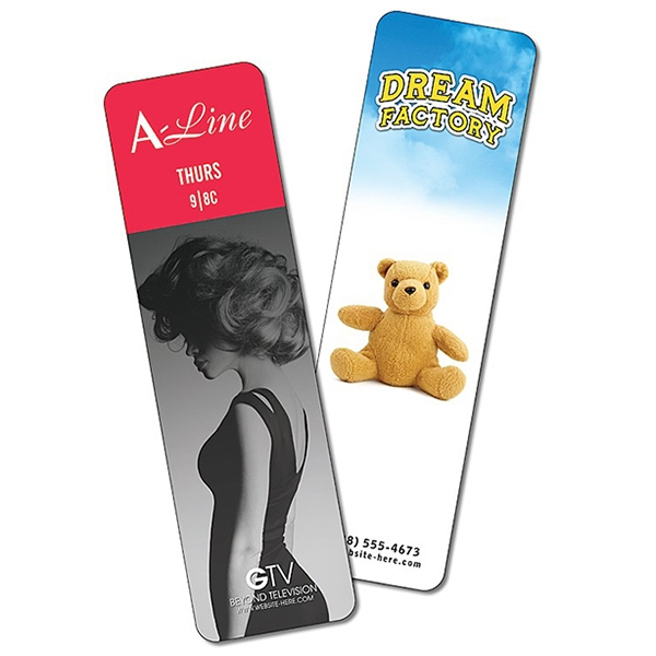 Bookmark - 2 X 7 Extra-thick Laminated - 24 Pt Photo