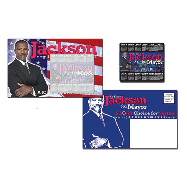Magna-peel (tm) - Political Postcard (8.5 X 5.25) With 3.5 X 4 Magnet Photo