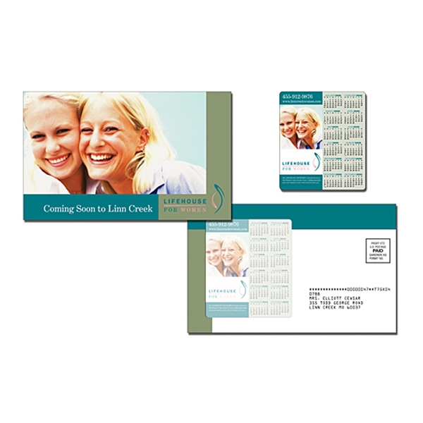 Magna-peel (tm) - Health Postcard (8.5 X 5.25) With 3.5 X 4 Magnet Photo