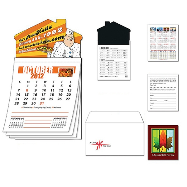 Magna-cal (tm) - House Magnet Standard Calendar-oct. 2012. Available To Ship 8/15/12 Through 11/14/12 Photo